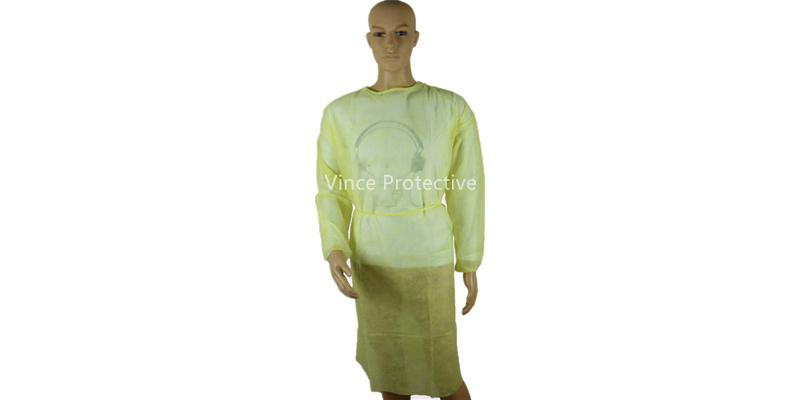 Yellow Surgical Gown