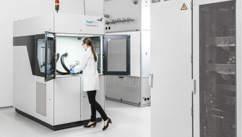 PEM-Zellstapel Prüfstand bis zu 10 kW - Prüfstand für das Testen von PEM-Komponenten bis 10 kW