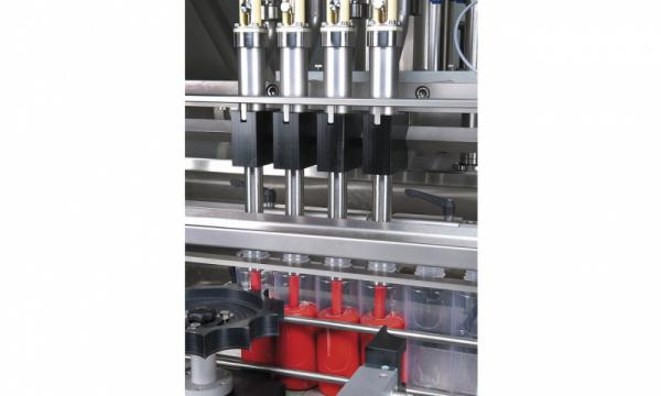 Filling Machine OPTIMA SHF - Filling Machine OPTIMA SHF: Liquids, pastes, chunky or abrasive products