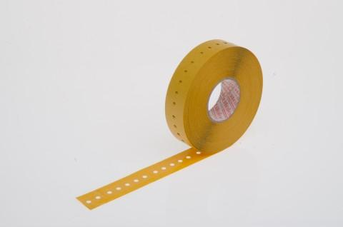 Radial tape connector, self-adhesive foil, 16 x 63 mm - made from Steierform 87-10122