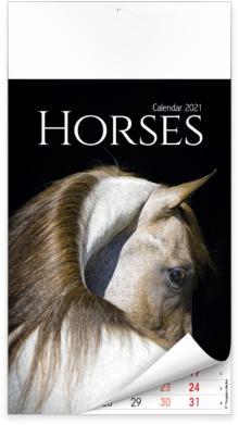 Calendriers illustrés - Horses