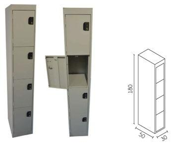 Locker - For stands or showrooms