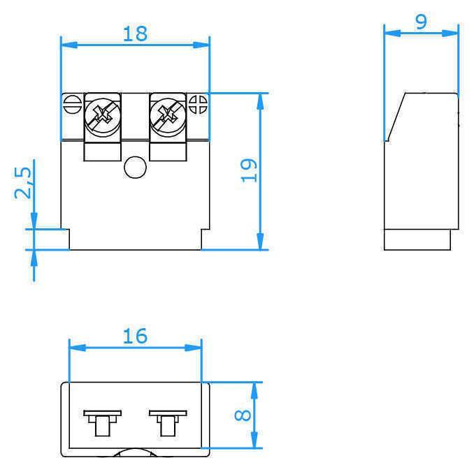 High Temperature Panel Miniature Insert (PMIH) - Panel Miniature Insert