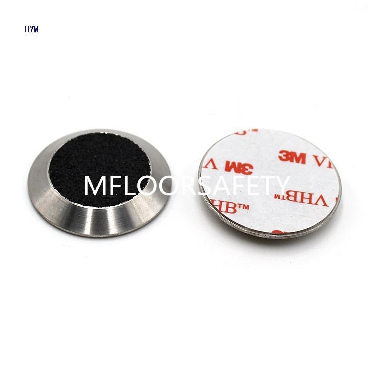 Carborundum Insert Stud With 3m Glue - Tactile indicator