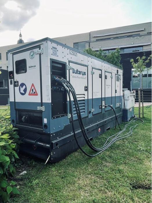 Groupe électrogène - Générateur électrique -