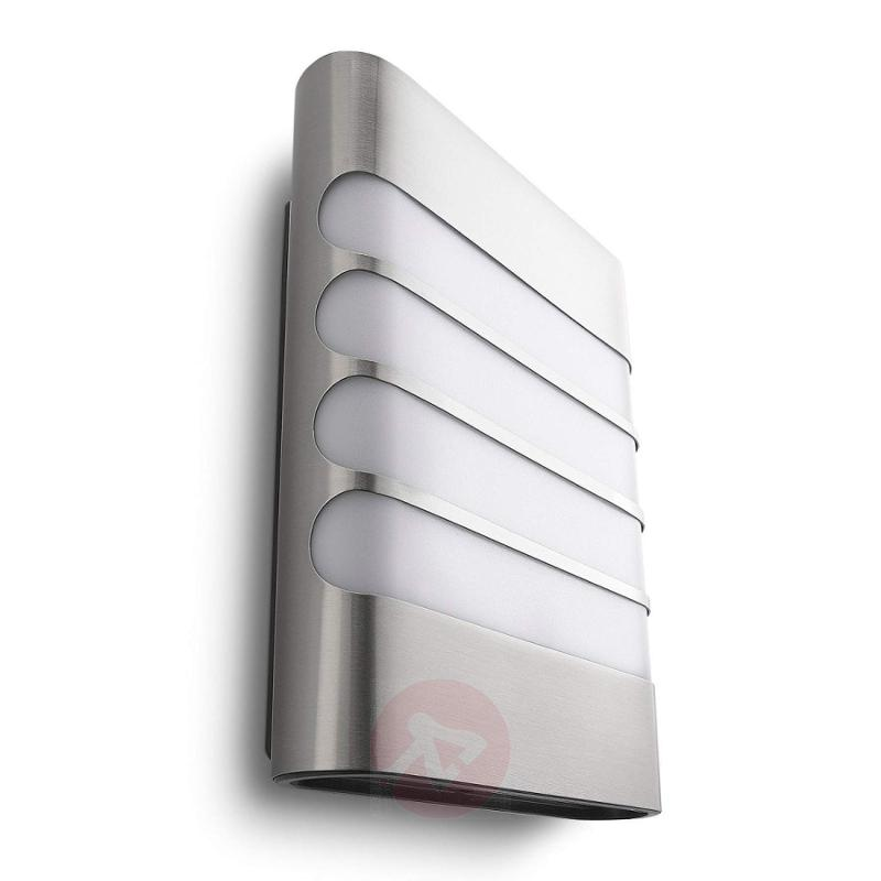 Raccoon LED Outside Wall Light Stainless Steel - stainless-steel-outdoor-wall-lights