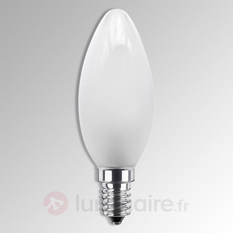 Ampoule flamme LED E14 3,5W 926 mate, variable - Ampoules LED E14