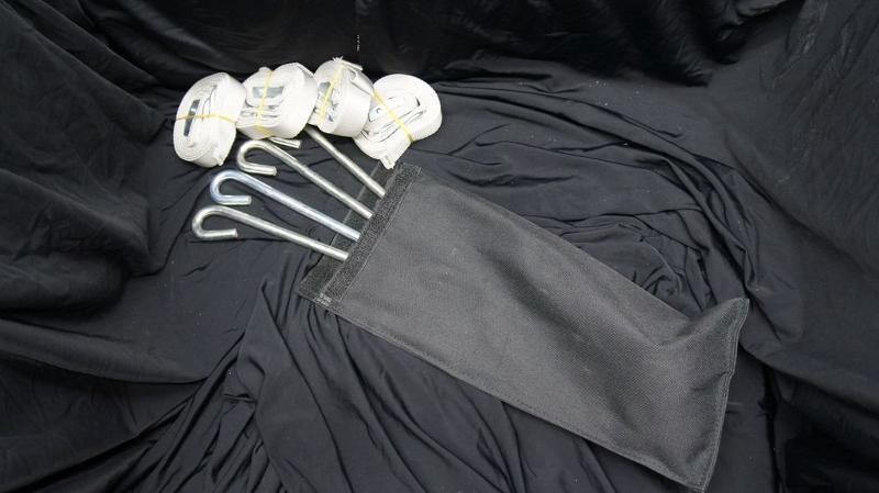 Kit d'arrimage à tendeur 4 points - Accessoires tentes pliantes
