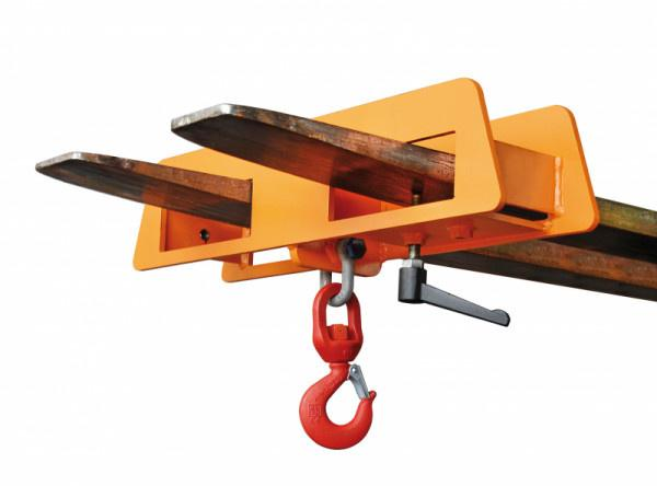 Crane hook type LH - Secure pick-up and transport of heavy duty goods