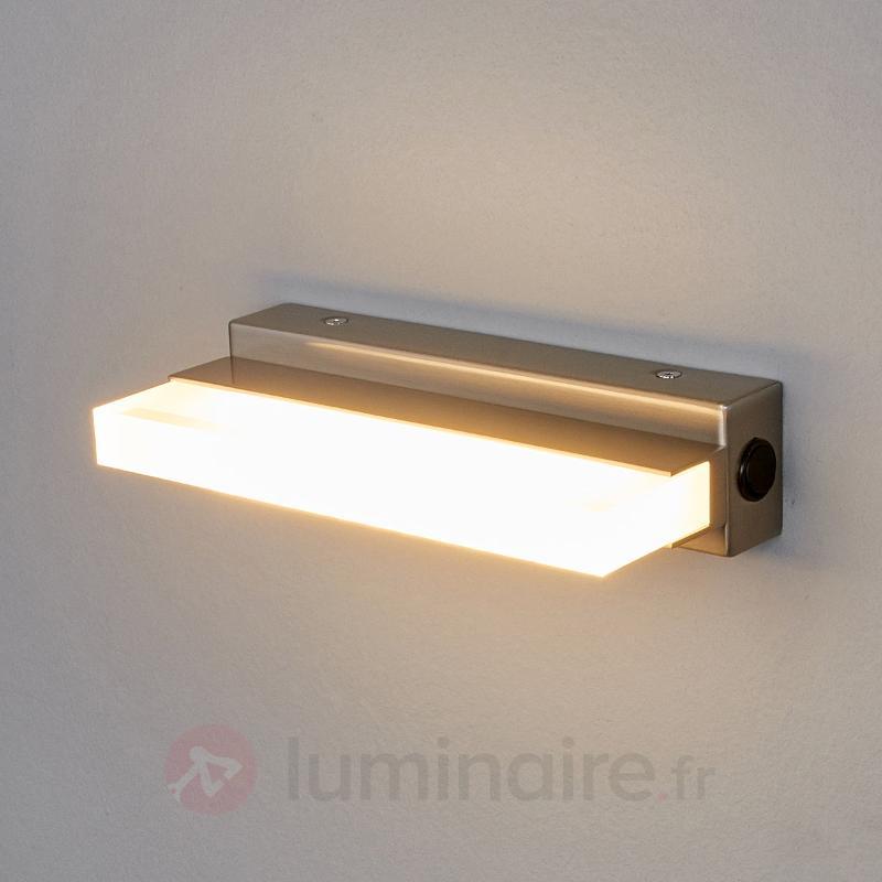Applique LED Fabrizio d'apparence moderne - Appliques LED
