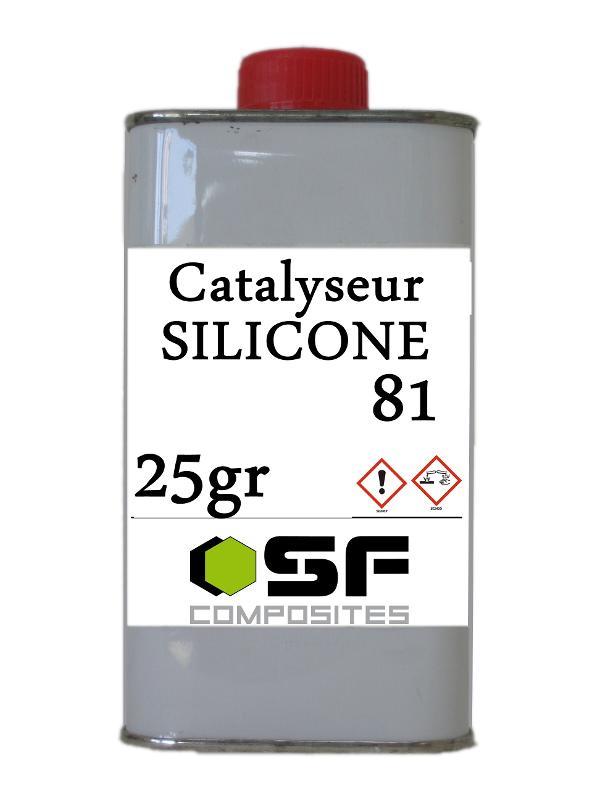 Produits pour le moulage Silicones - CATALYSEUR STANDARD en 25gr