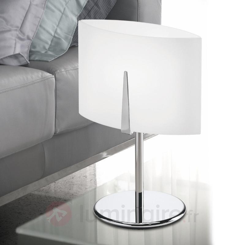 Lampe à poser ESTRA hauteur 55 cm chromée - Toutes les lampes à poser
