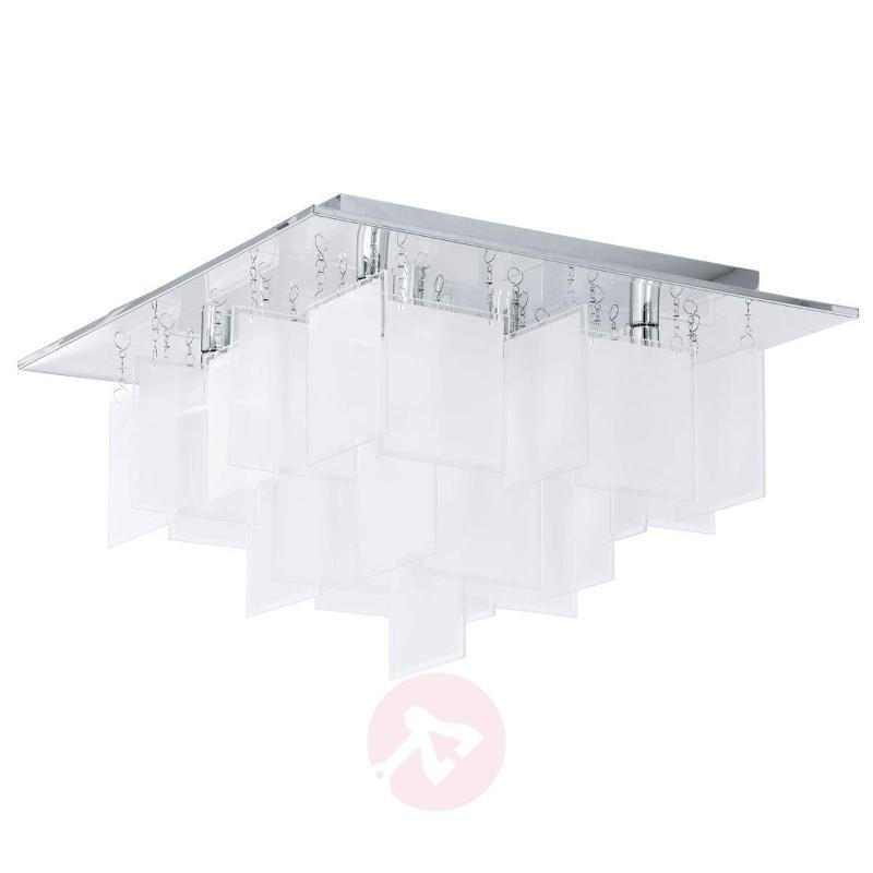 Condrada 1 Unique Ceiling Lamp, Glass Hangings - Ceiling Lights