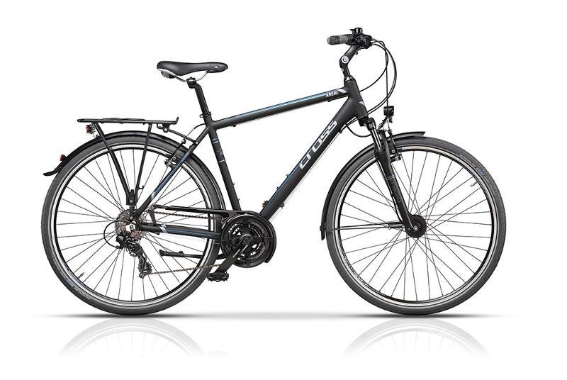 CROSS AREAL – cuadro en aluminio 6061, ruedas 700C, 21 velocidades shimano - Cross
