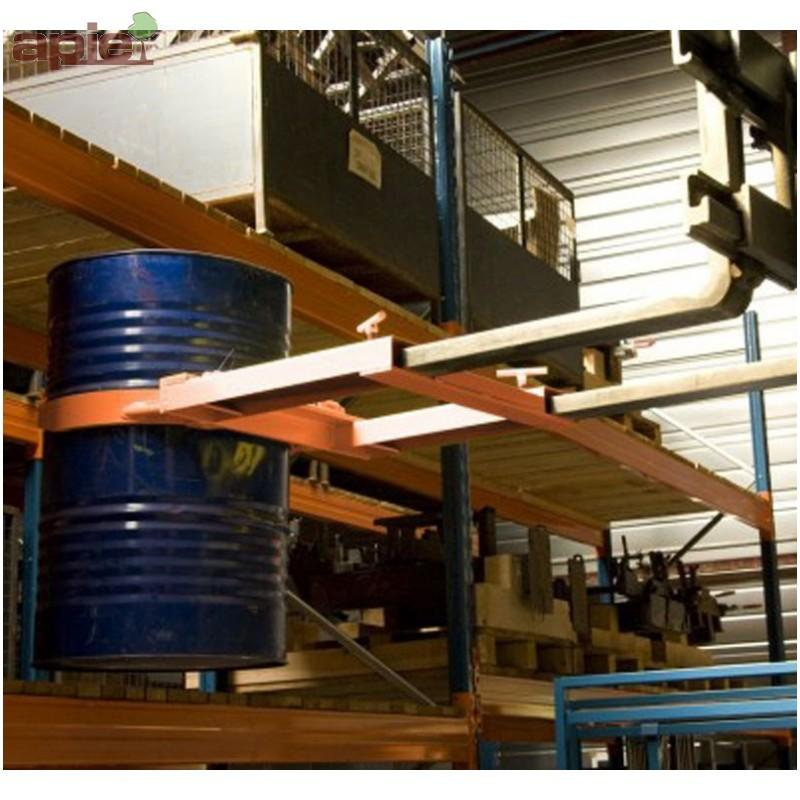 Pince réglable pour 1 fût métallique - CU 680KG - Aménagement, Manutention, Logistique