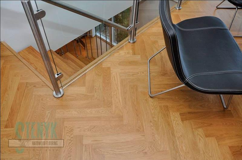 Oak parquet - Oak parquet 22x70x250, 300, 350, 420 and 500mm