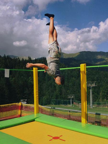 Trampolines - Professional trampolines for sport - Trampoline park - Modular trampolines