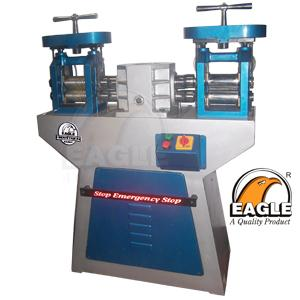 Roll Press Machinery Double Rolling Mill