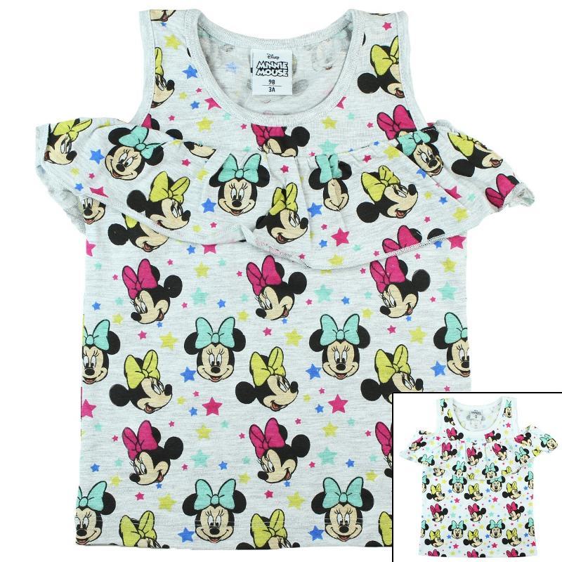 Fabricant de T-shirt manches courtes Minnie du 2 au 8 ans - T-shirt et Polo manches courtes