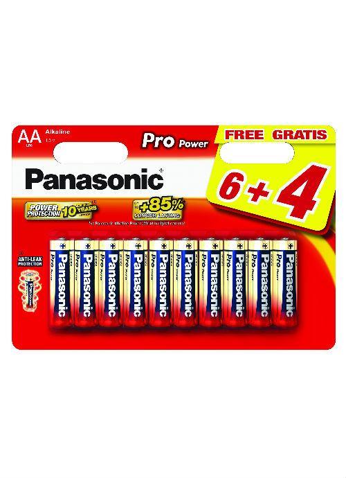 Batterie stilo Alcaline Pro Power 6+4pz