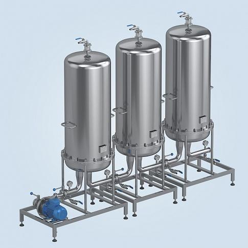 Distillate Sorptive Treatment - Filtration systems