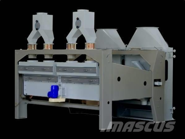 Universal grain-cleaning separator of the BISS-200 - Screen separator grain cleaning capacity of 200 t / h cleaning