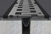 Expansion joints - Finger road joints