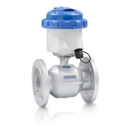 WATERFLUX 3070 - Débitmètre pour eau / électromagnétique / compact / à batterie / max. 16 bar
