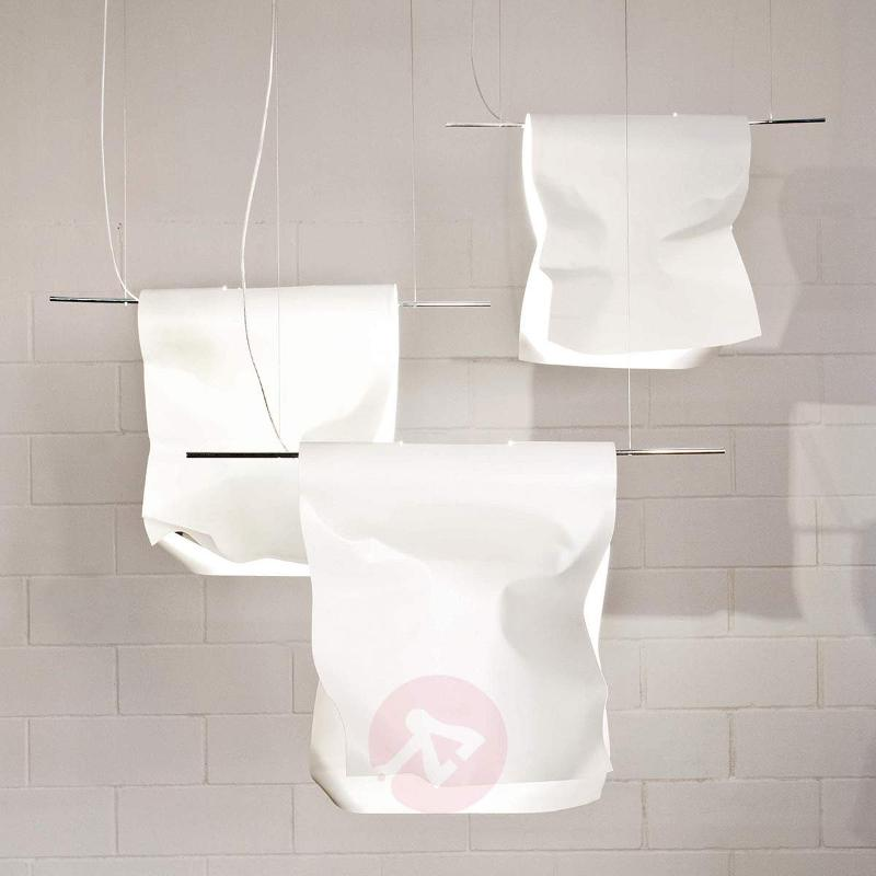 White hanging light Stendimi, 40 cm - Pendant Lighting