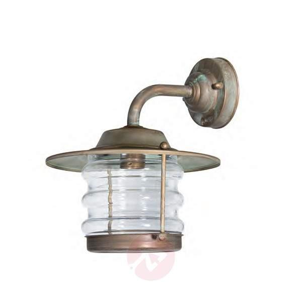 Azuro - antique-looking outdoor wall lamp - Outdoor Wall Lights