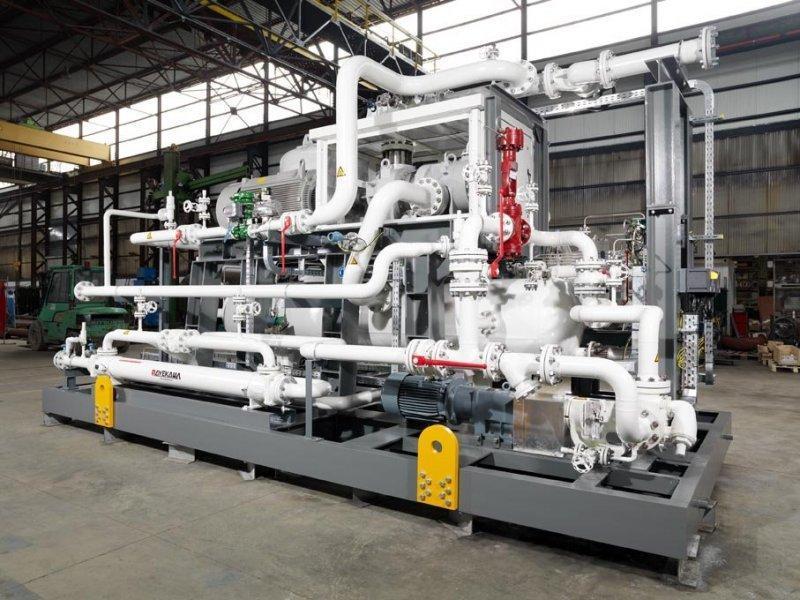 Compresseur haute pression  -  à vis Série GH