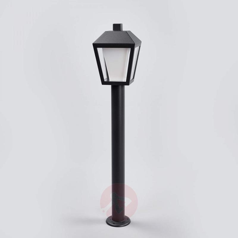 Lantern-shaped LED path lamp Keralyn - outdoor-led-lights