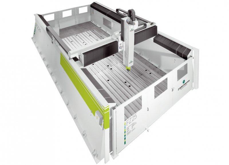 Портальный фрезерный станок с ЧПУ FZ25