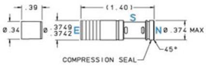 375 Spring Biased Shuttle Valve - null