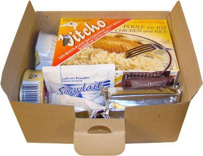 12H SELF-HEATING MRE PACK WITHOUT PORK