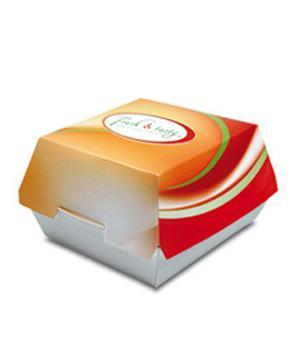 Burger Box, Clamshell - null