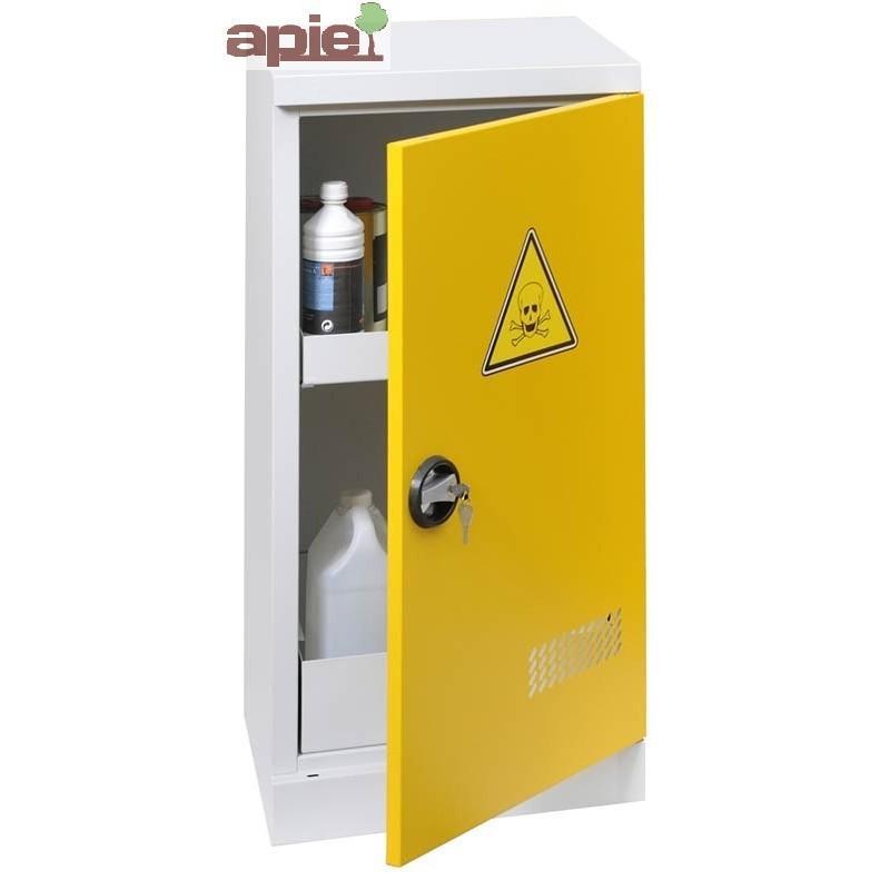 Armoire de sûreté AVEC EXTINCTEUR modèle comptoir à 1 porte - Référence : ASN TME+EA