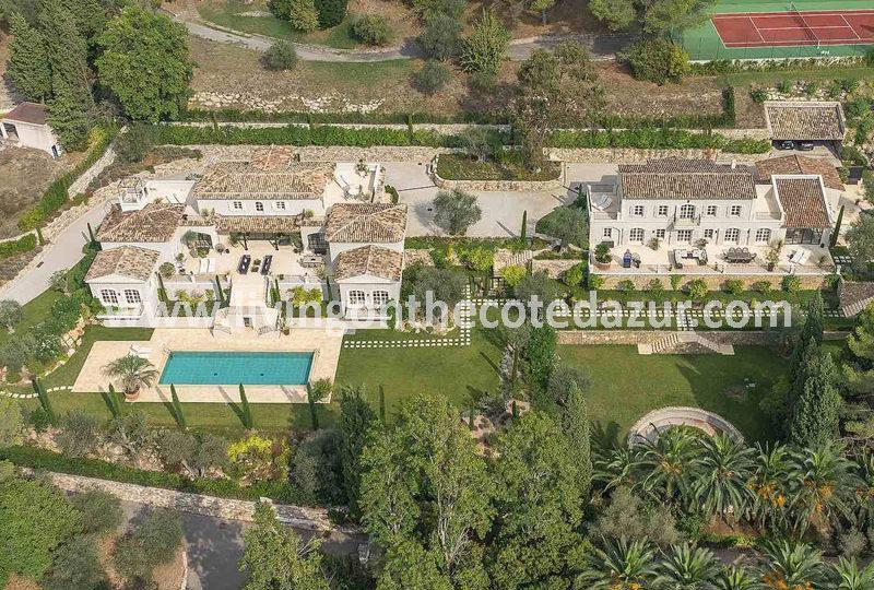 Luxury double villa property for sale Mougins - Real Estate