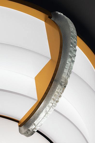 Роскошный потолочный светильник арт-деко - Модель 727