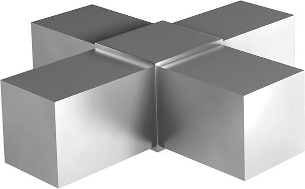Rohrverbinder Aluguss - null