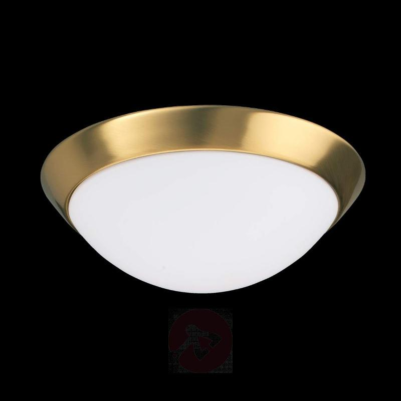 Katrin - Ceiling Light in Brass Look IP44 - Ceiling Lights