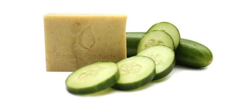 Cucumber soap - Cucumber Soap is that it helps in revitalizing the skin.