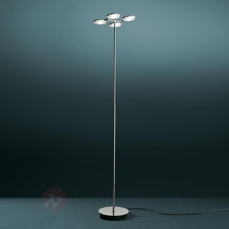 Lampadaire raffiné NOBI à 4 spots - Lampadaires design