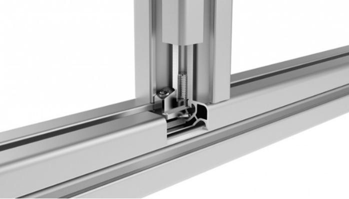 Profile Connector 90° (Set), Slot 8 or Slot 10 - To connect two aluminum profiles at right angles