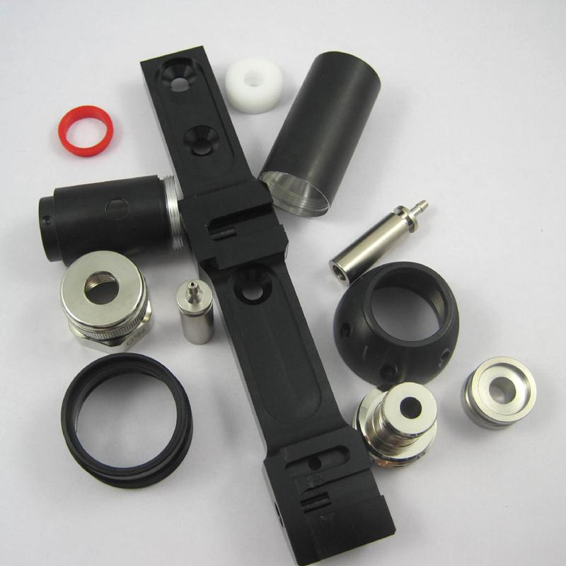 CNC fabrication parts - Precision metal and plastic fabrication part