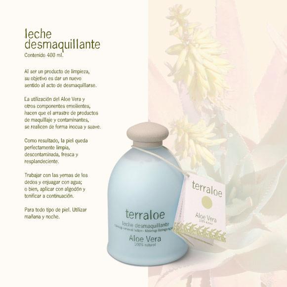 Leche Desmaquillante - Aloe vera, Aceite de caléndula, Aceite de semillas.