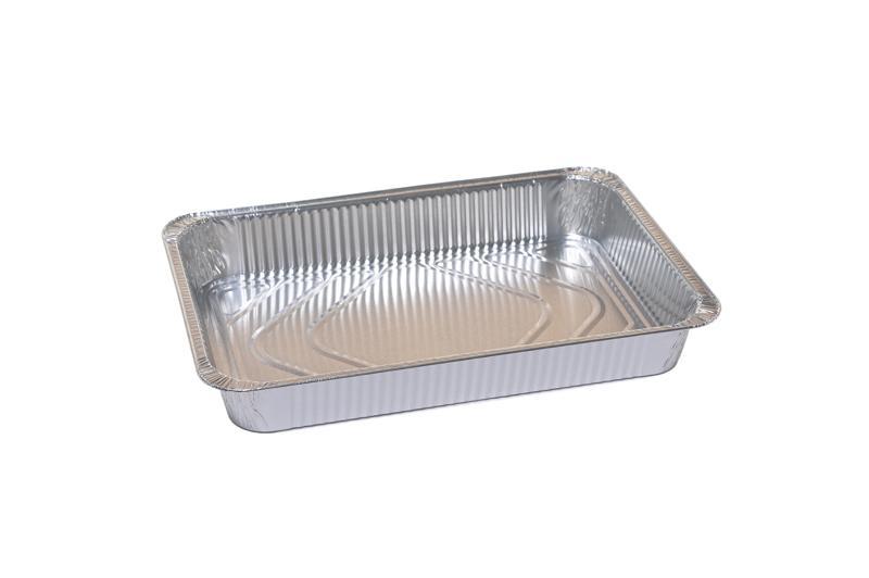 Vaschetta Alluminio Rettangolare 6 Porzioni R86G 50 pz - Non Food - Prodotti monouso e altri prodotti