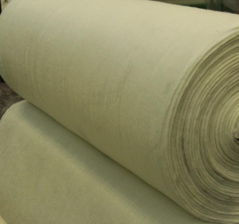 IPS-T needle-punched glass fabric - insulation materials