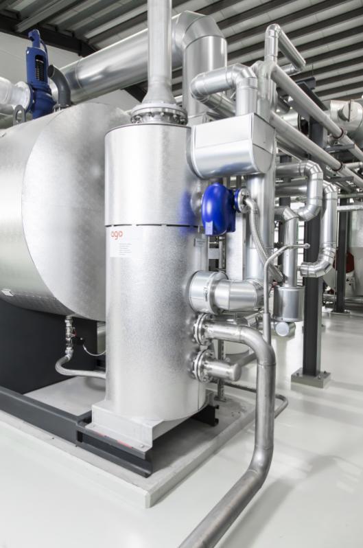 Entspannungs-, Wärmerückgewinnungs- & Ablasswassermodul EHB - Entspannungs-, Wärmerückgewinnungs- und Ablasswassermodul