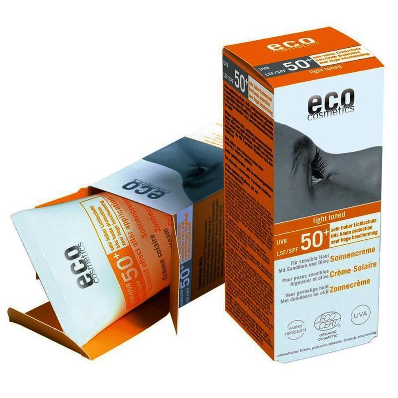 ECO Sonnencreme LSF 50+ leicht getönt 75ml mit... - null